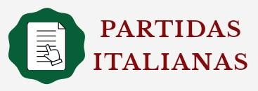 logo partidas italianas con fondo